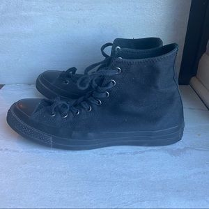 Vtg converse chuck Taylor all star black sneakers